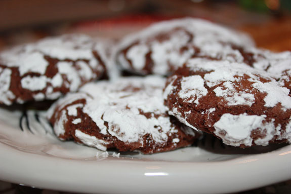 PeppermintChocolateCrinkles